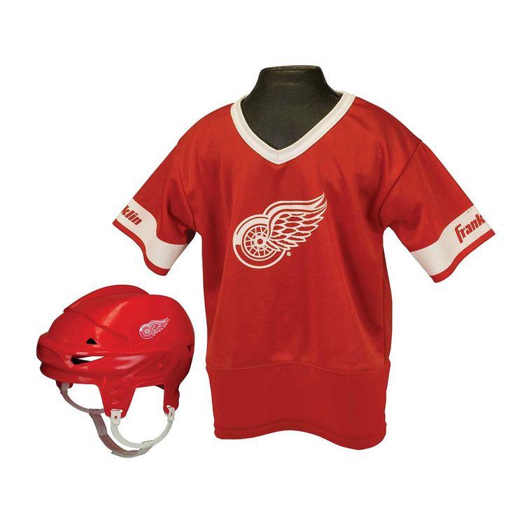 Franklin NHL Detroit Red Wings Uniform Set - Kids, Boy's, Multicolor
