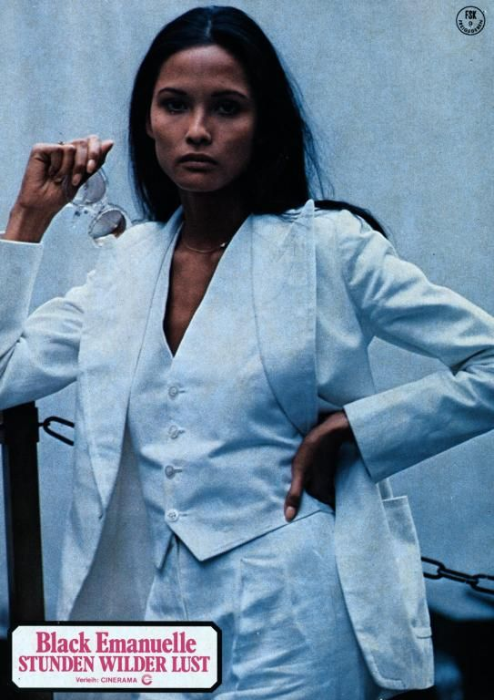 Laura Gemser - Indonesian-Dutch actress