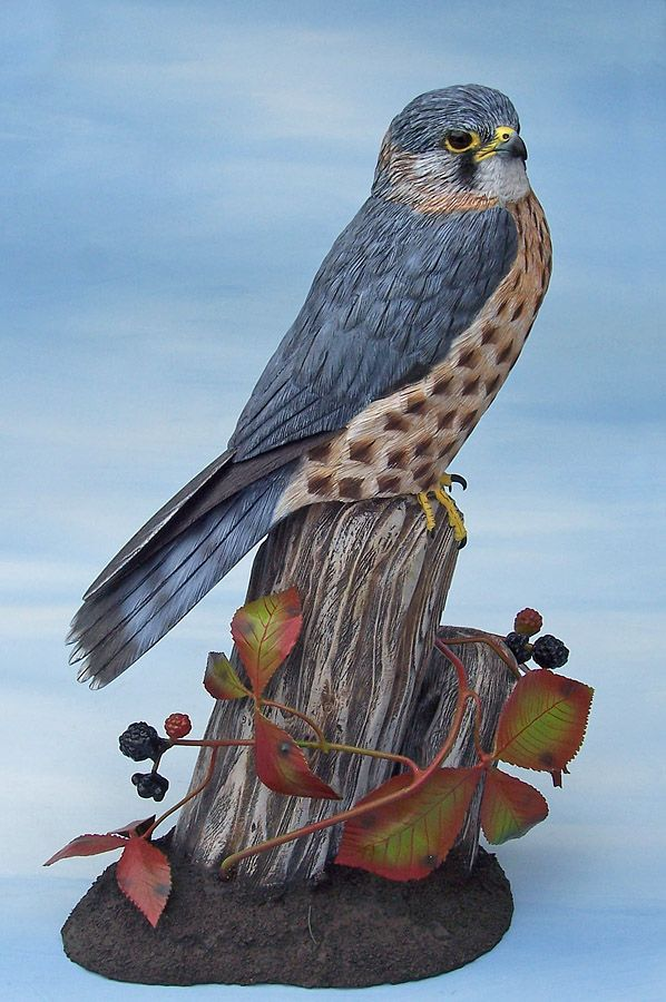 Mike Wood Bird Carvings