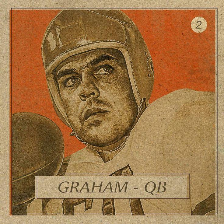 QB Otto Graham. Throwback GridironGreats