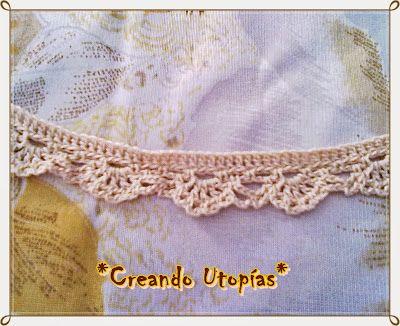 Puntilla en crochet para cortina flores amarillas - Puntillas para cortinas ...