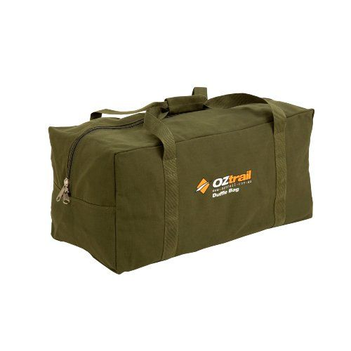 OZtrail Extra Large Canvas Duffle Bag