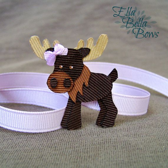 Hey, I found this really awesome Etsy listing at https://www.etsy.com/listing/224686708/woodland-moose-ribbon-sculpture-hair
