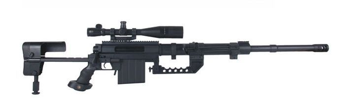 The CheyTac Intervention is an American bolt-action sniper rifle manufactured by CheyTac LLC. https://en.wikipedia.org/wiki/CheyTac_Intervention