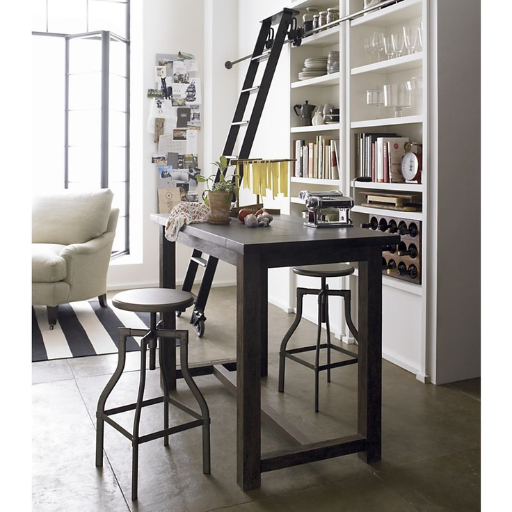 District High Dining Table In Dining Tables | Crate And Barrel