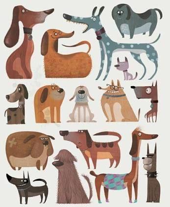 dog illustration - Google Search