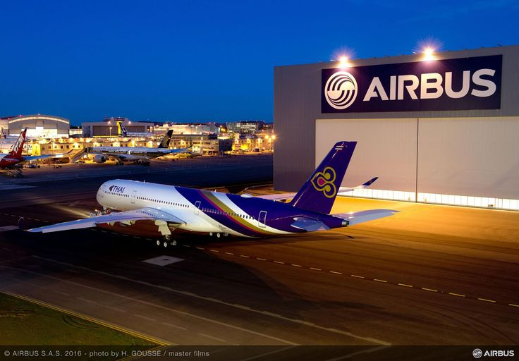 Want to know more about the first A350 XWB delivered to Thai Airways? Check this…