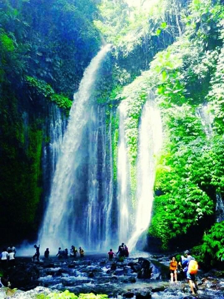 Tiu Kelep Waterfall, Senaru, Lombok