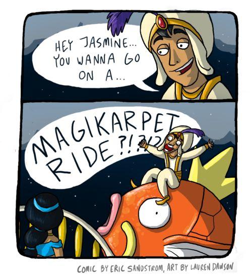 Pokémemes: A Magikarpet Ride!