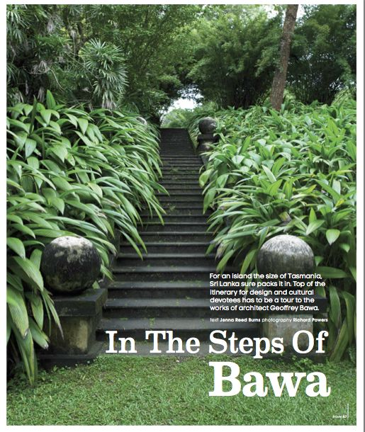 in the steps of bawa