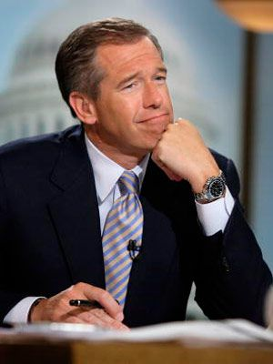 Brian Williams~ He's great!  Sad about his career on NBC.  But he's still extremely funny & personable.