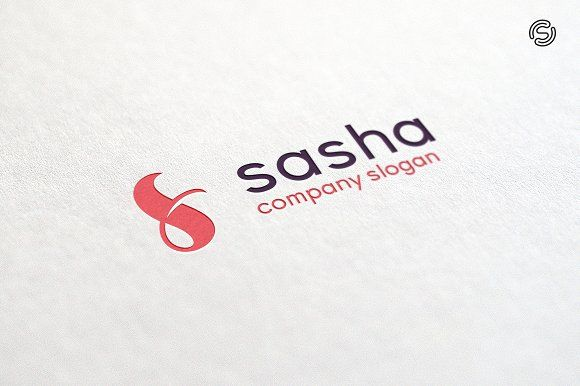 Sasha - Letter S logo Template Templates **Logo Template Features**---- CMYK 300 PPI- 100 vector files- Editable and resizable vector f by sarten