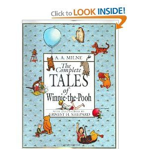 The Complete Tales of Winnie-the-Pooh by A.A. Milne: Worth Reading, Pooh Bears, Kids Books, Complete Tales, Books Worth, Books Series, Winniethepooh, Winnie The Pooh, Children Books