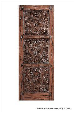 Mediterranean Inspired Entry Door Model # 37 Provence - mediterranean - front doors - Doors4Home.com