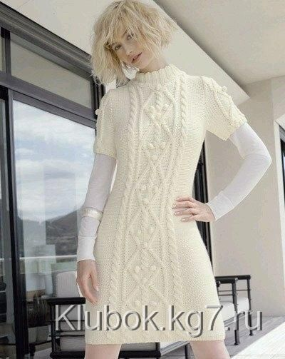 Изумительное белое платье