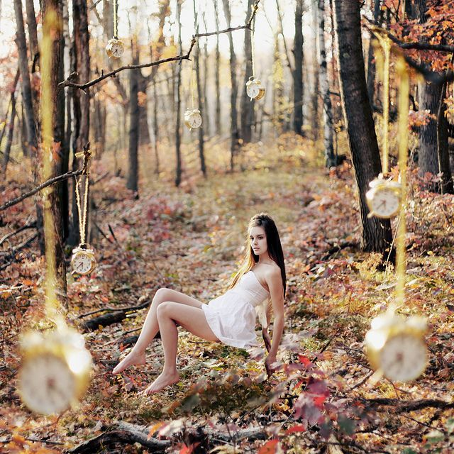Perfect and creative levitation photo