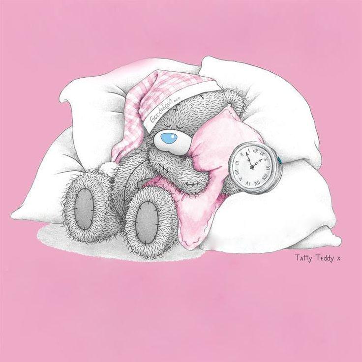 Картинки мишка тедди спокойной ночи картинки