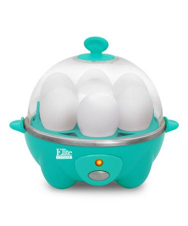 Take A Look At This Teal Automatic Easy Egg Cooker Today! Find This Pin And  More On Small Kitchen Appliances ...