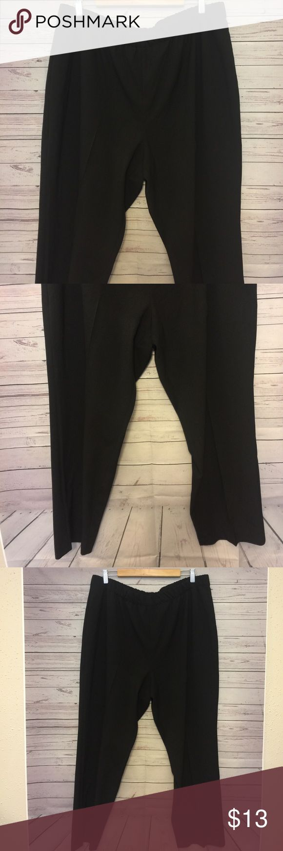 Susan Graver Women's Plus Size 22WP Pants Gently used waist 19 in Length 39 in inseam 26 in Susan Graver Pants Ankle & Cropped