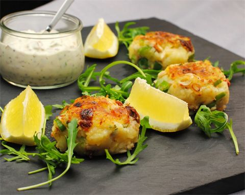 Smoked Fish Cakes With Corn Tartar Sauce Recipes — Dishmaps