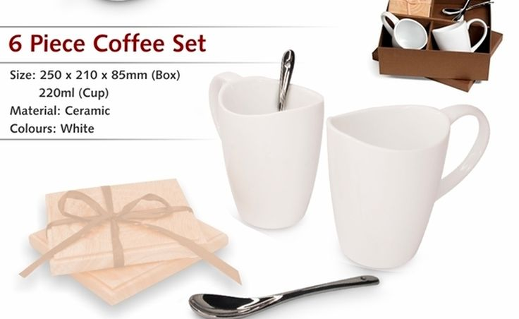6 Piece Coffee Set - R115