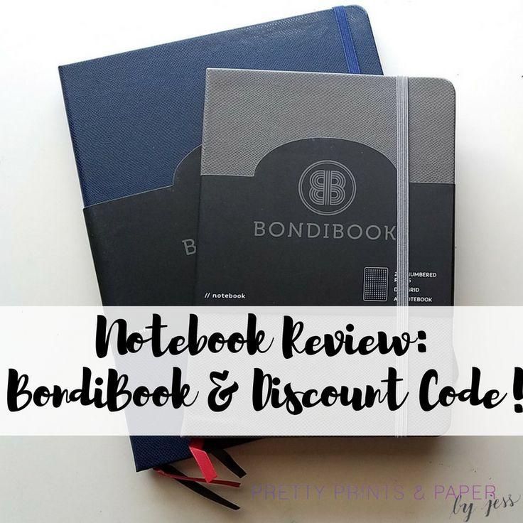 Notebook Review: Bondibook + Discount Code – Pretty Prints & Paper