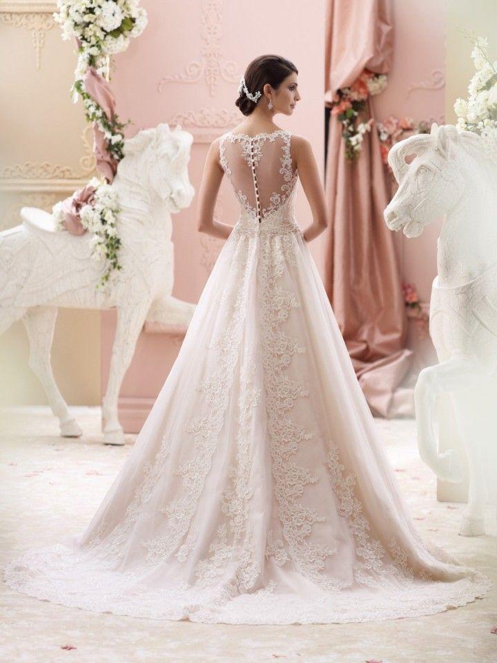 David Tutera Wedding Dresses 2015 Collection - MODwedding