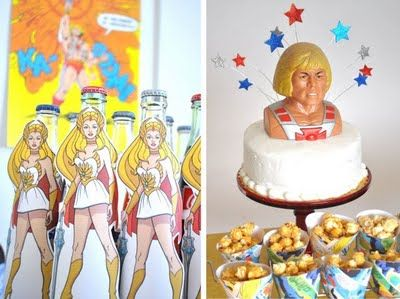 He Man & She Ra party.....YES!!!!!!!! Just because I will be 33 next week doesn't mean I can't have this, right!