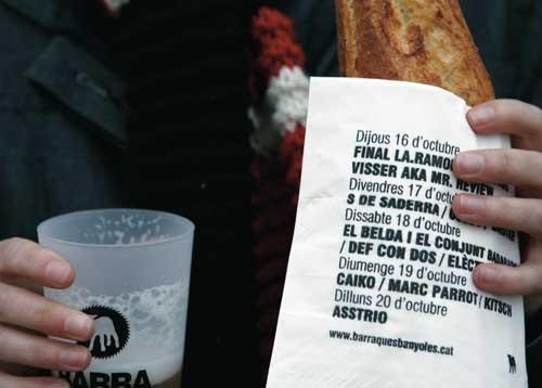 Tovalló de barraques - ANNA PIGEM - Premi GiDi 2010 Valor Sostenible
