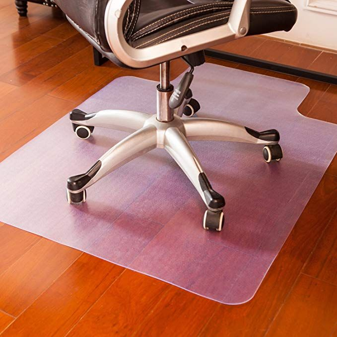 Mysuntown Office Chair Mat For Hardwood Floor Anti Slip Thin Desk
