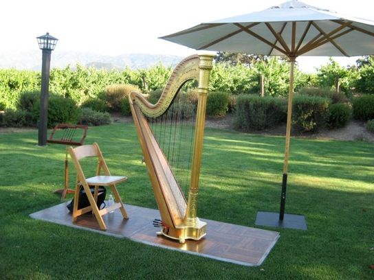 Harps are a great way to add sophistication to a wedding. @GigMasters.com offers advice for hiring a harpist for your day!