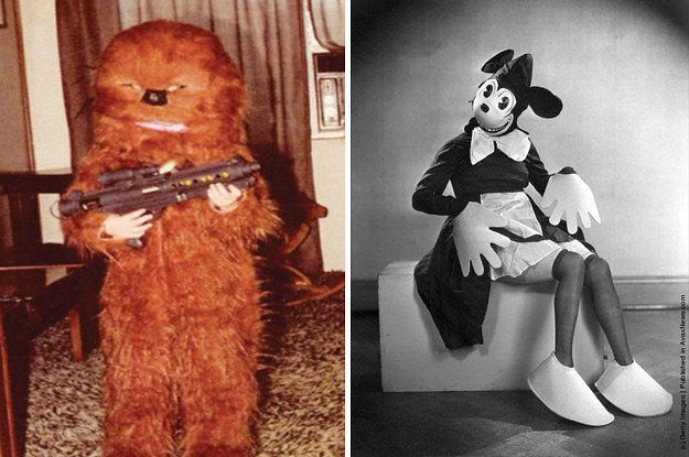 19 Halloween Costumes That'll Make You Wonder WTF Our Ancestors Were On