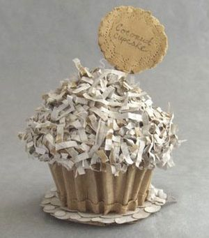 Love. Luck. Kisses & Cake: Cardboard Cake