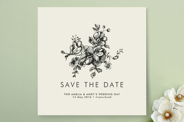 Lots of great save the date ideas in this post. Elegance Illustrated Save the Date Cards