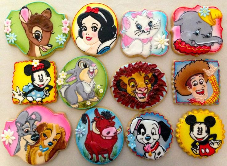 Classic Disney Characters | Cookie Connection