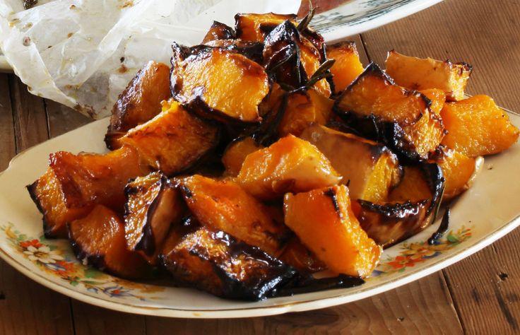 Roasted Butternut Pumpkin with Verjuice