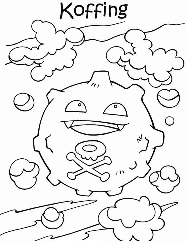 Desenhos para pintar Pokemon 40