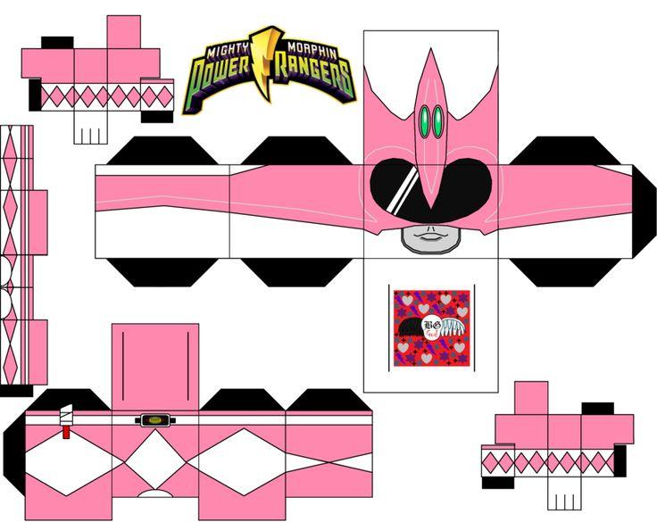 Pink Power Ranger by Guitar6God on deviantART