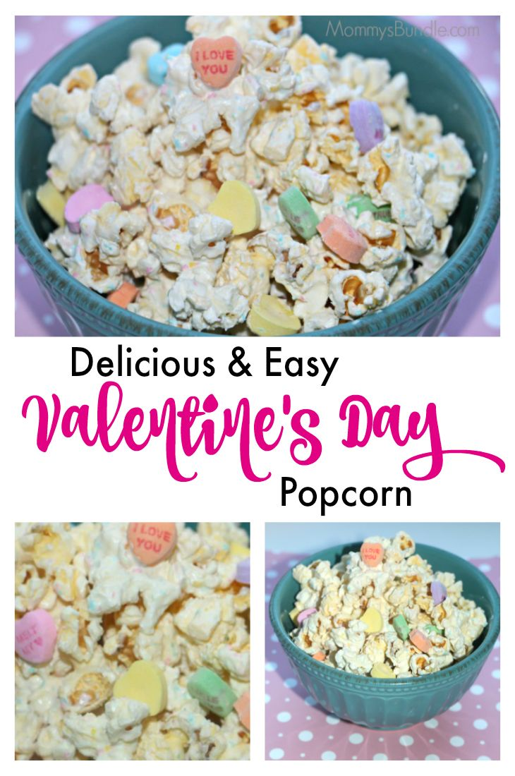Valentine's Popcorn: Melt Your Heart Sweet & Salty Snack  of Healthy salty snack ideas