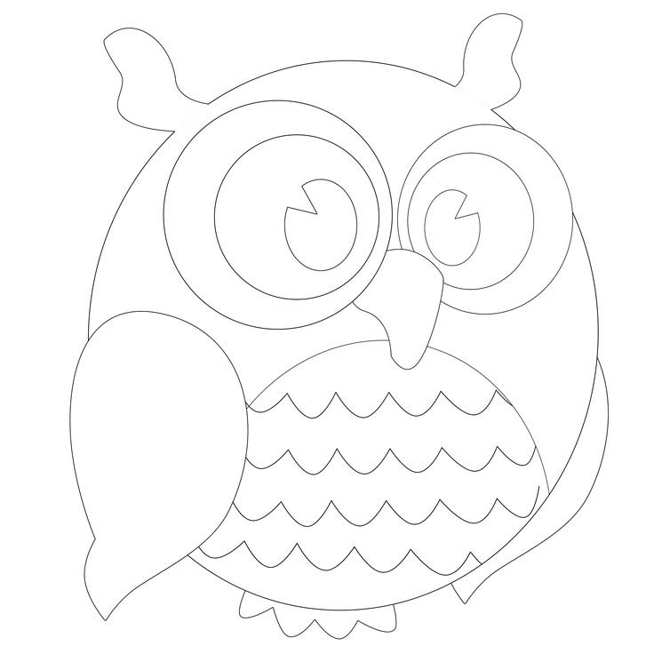 30 best Free Printable Owl Outline Tattoos images on Pinterest | Owl ...