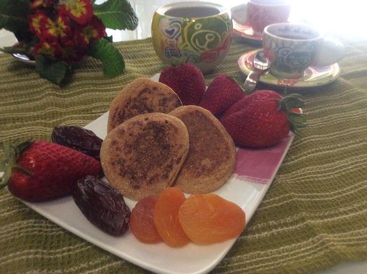 Pancakes di farina di grano saraceno