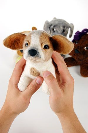 Take a picture of your dog and they will make a stuffed animal replica.... XMas gifts!!