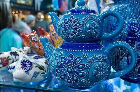 Teapots: Istanbul Turkey, Teas Cups, Grand Bazaars Istanbul, Teapots Sets, Blue Teapots, Turkish Teas, Teas Sets, Teapots Teacups, Flying Snails
