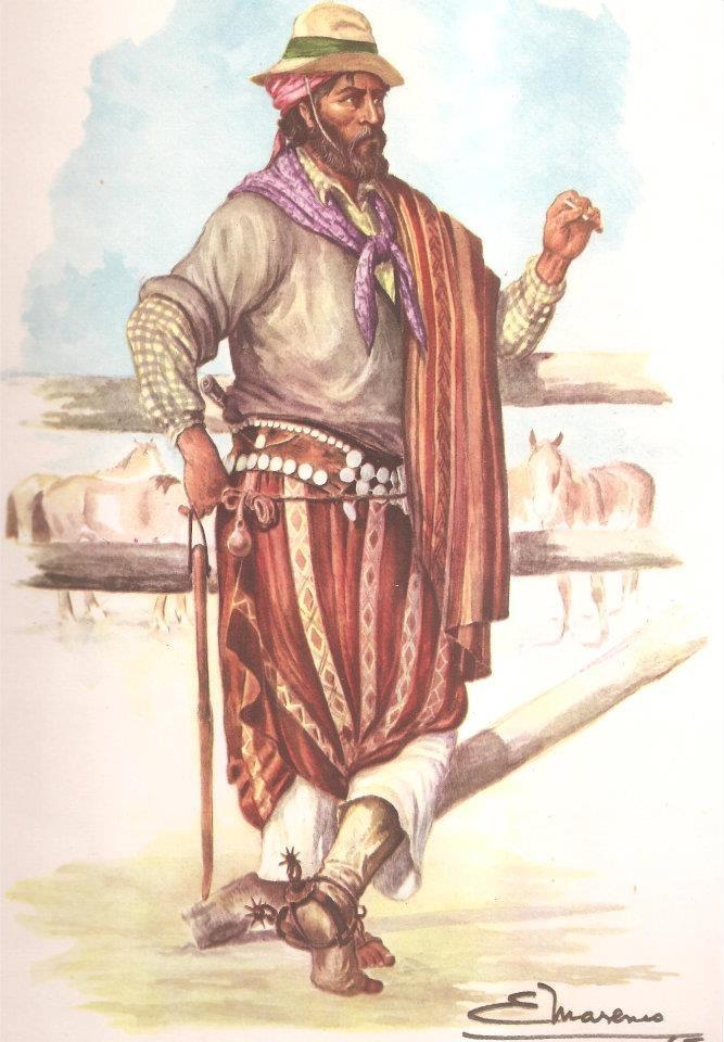 EM - GAUCHO RIOPLATENSE 1860