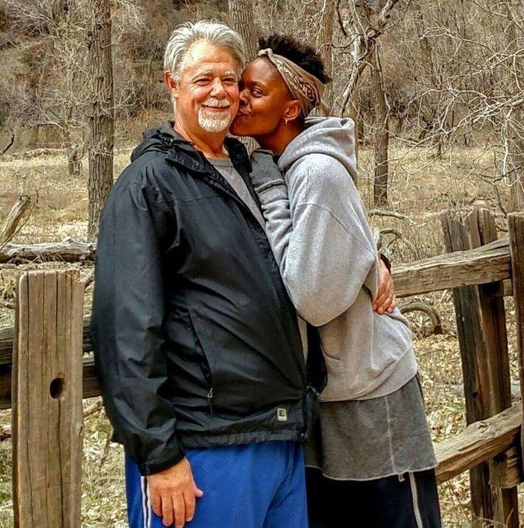 Bill Cooney - My Gorgeous Princess and I in Zion national Park interracial, interracial dating, interracial relationships, interracial marriages,interracial dating sites, interracial dating couple, white men black women, wmbw,bwwm,interracialdatingblog