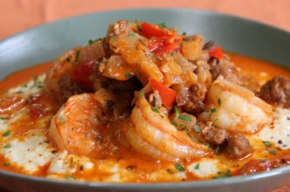 Voodoo Shrimp and Grits