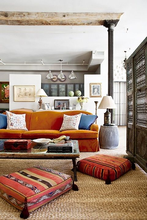 Designer Debora French: Eclectic Style New York Apartment