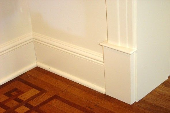 how to clean baseboards and keep them from getting dirty in the first place! genius!