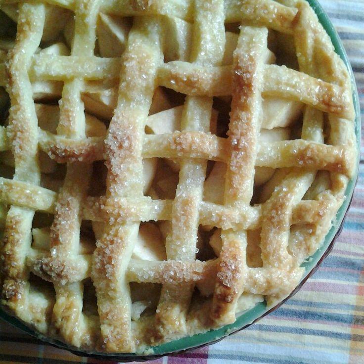 Apple Lattice Top Pie