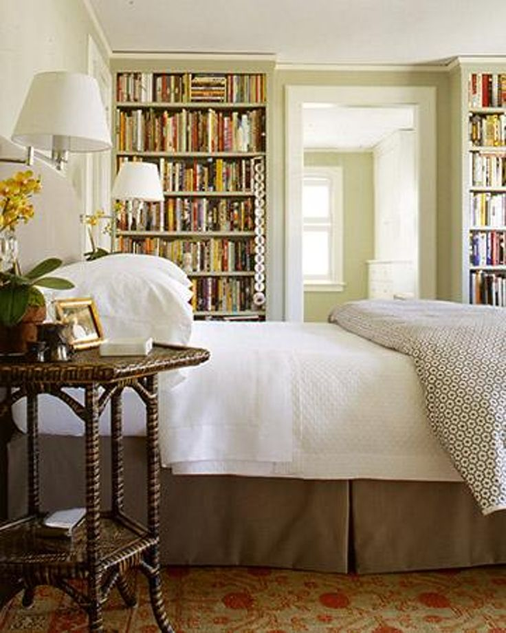 Do You Like Bookcases in the Bedroom?